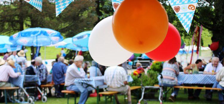 Sommerfest im Haus der Betreuung