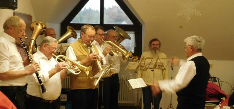 Klangvoller Adventsnachmittag mit der BB-Band