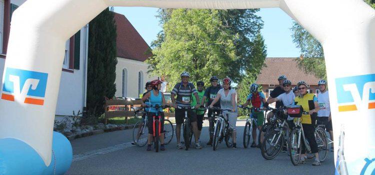 Mitarbeiter-Mannschaft bei der Radrundfahrt 2017