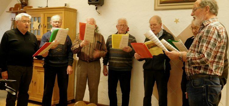 Weihnachtsfeier mit dem Liederkranz Heimenkirch