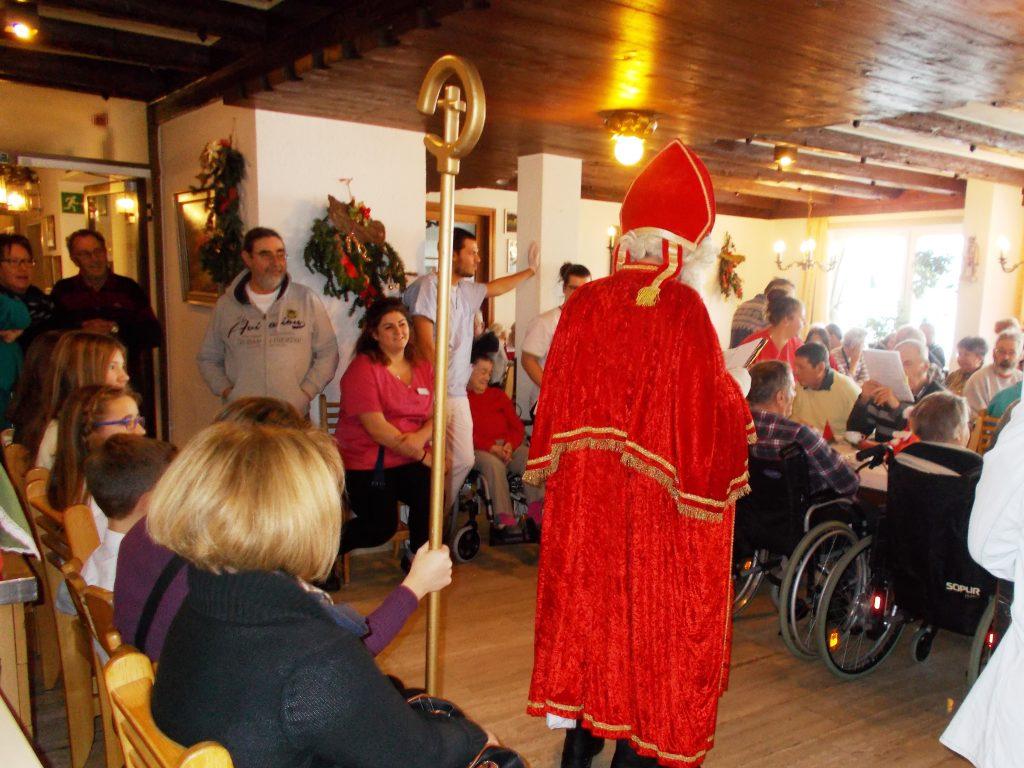 Nikolaus im Haus der Betreuung